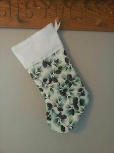 18-034-Personalized-Holly-Berry-Christmas-Stocking-Embroidered-Monogrammed