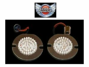 3-034-LED-FLAT-Style-Turn-Signal-Inserts-for-Harley-Davidson-GEN-200-R-1156-T-New