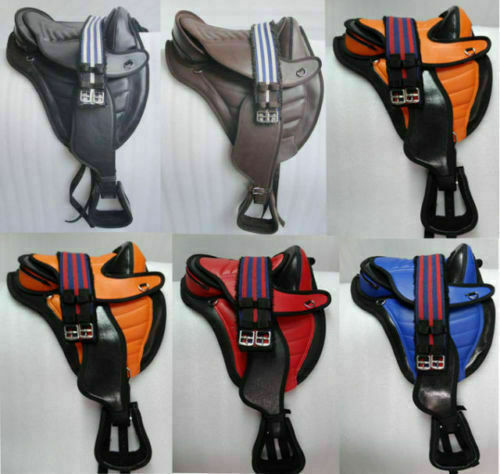 All Purpose Synthetic treeless saddles with Fender & Girth all Dimensione'