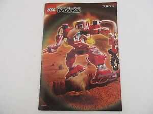 Manuel-Instructions-LEGO-LIFE-ON-MARS-7314-RECON-MECH-RP