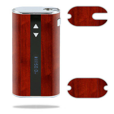 Skin Decal Wrap for Eleaf iStick 50W mod sticker vape Cherry Wood