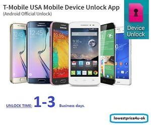 Details about Official TMobile Device Unlock App Support Code Service  Android Samsung LG Phone
