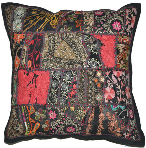 """Embroidered Pillows 24/"""" Large Pillow for sofa Decorative Throw Pillow for Couch"""