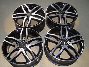 4-Originale-Mercedes-Alufelgen-GLA-Klasse-A156-18-Zoll-7J-x18-ET46-A1564010100