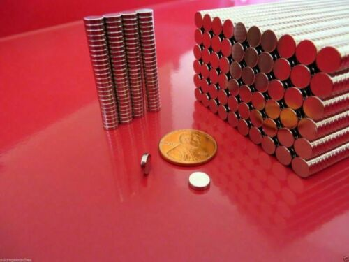 Lot 25-100 6*1.5mm 1//4*1//16 inch Neodymium Disc Strong Rare Earth Magnets Hot