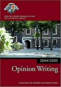 Opinion-Writing-2004-2005-by-Inns-of-Court-School-of-Law