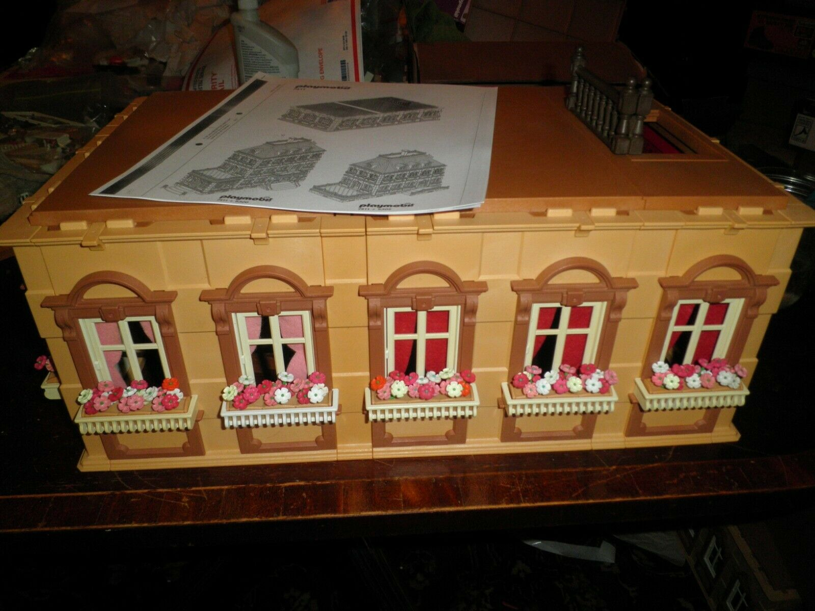 Playmobil Victorian Mansion #5300 Dollhouse Roof Piece ...