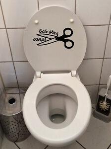 Klo-Deckel-Sticker-Toiletten-Aufkleber-Fun-Klo-tattoo-WC-Badezimmer-setz-dich