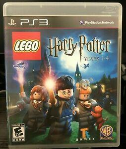 Lego Harry Potter Years 1 4 Sony Playstation 3 Ps3 Game Complete