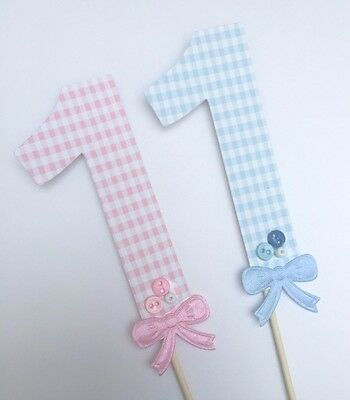 Light Pink Dots 1st Birthday Cake Bows Baby White Top