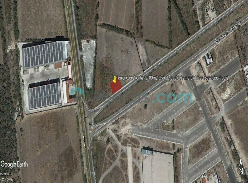 Terreno en Renta,en Blvd Peña Flor 1100 (FR)