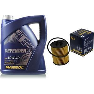 Olwechsel-Set-5-Liter-MANNOL-Defender-10W-40-SCT-Olfilter-Service-10164272