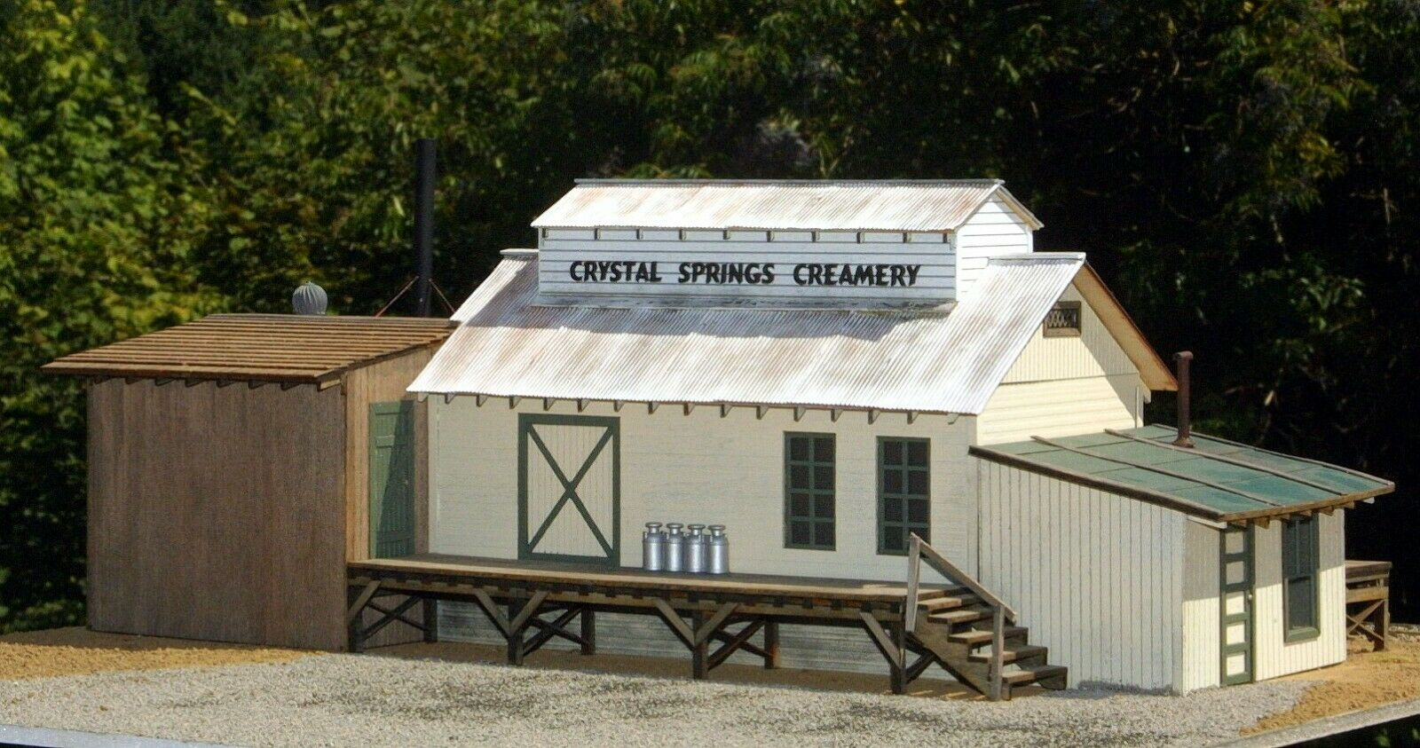Giriamo laser o scale Crystal Springs e cremoso KIT