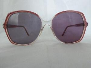 1304202bcc5 Image is loading Ladies-Butterfly-Red-Pink-Sunglasses-BY66-Florida-140-