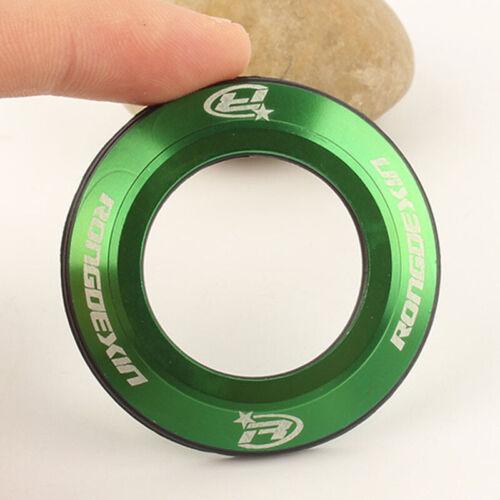 Bicycle Headset Cap MTB Mountain Bike Top Shell Flat Cover CNC Metal O-ring Seal