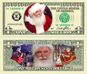 image is loading vivid color santa 039 s christmas million dollar