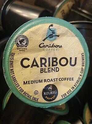 Caribou Coffee Caribou Blend, Keurig K-Cup Pod, Medium Roast, 64 Ct, BB *6/2014*   eBay