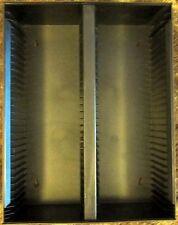 Alpha CD hard plastic storage rack - holds 60 - excellent condition