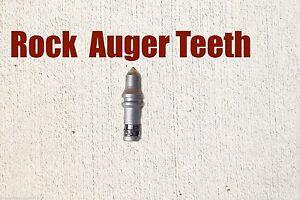 McMillen Pengo Replacement Bullet Teeth, For Rock Auger Bits