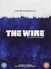THE WIRE - COMPLETE HBO SERIES SEASONS 1 2 3 4 5 *** BRAND NEW DVD BOXSET***