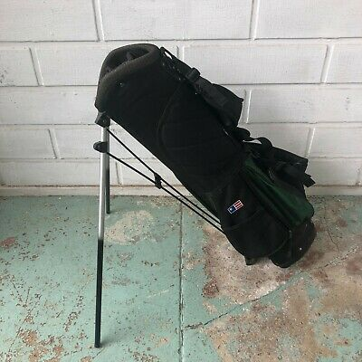 Us Kids Golf Junior Golf Bag With Stand 31 Tall In Great Condition Ebay