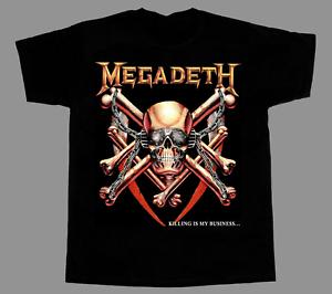 Megadeth Killing Is My Business Men/'s Black T-Shirt Size S-3XL