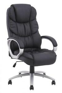 Image Is Loading New High Back Leather Office Chair Executive