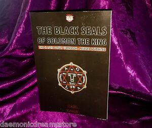 BLACK SEALS OF SOLOMON TESTAMENT OF BELIAL Brass Sigil Carl Nagel Magick Occult