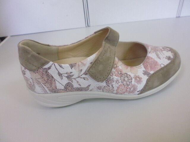 Los zapatos más populares para hombres y mujeres Descuento por tiempo limitado SCHUHE DAMENSCHUHE SLIPPER KLETTSLIPPER LEDER  SEMLER  Gr. 6,5 ( 39 ) WM