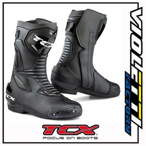 outlet online doppio coupon speciale per scarpa Dettagli su 7665 SP - STIVALI MOTO TCX MASTER NERO STRADA BLACK