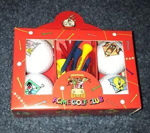 Looney-Tunes-Acme-Golf-Club-Bugs-Bunny-Taz-Tweety-Bird-Sylvester-and-Tees