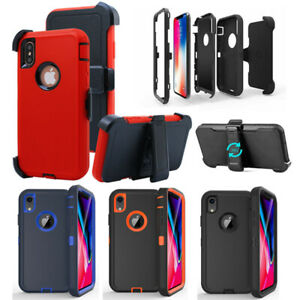 For Apple iPhone XR Xs Max 11 Case with Belt Clip   Fit Otterbox DEFENDER SERIES