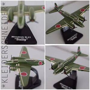 Mitsubishi-ki-21-034-Sally-034-termine-modele-metal-1-144-Miniature-Military-Aircraft