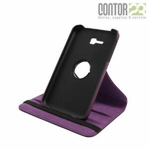 """360° Schutzhülle,Tasche,Case in PURPLE für 7.0"""" Samsung Galaxy Tab 3 lite"""