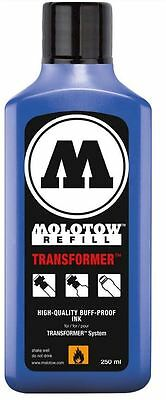 MOLOTOW TRANSFORMER REFILL INK - 250ml PERMANENT INK