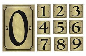 High Visible Gold Wheelie Bin Adhésives Numéros Stickers Home Hotel Poubelles-afficher Le Titre D'origine Ni Trop Dur Ni Trop Mou