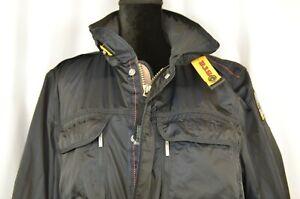 Parajumpers-PJS-Men-039-s-Windbreaker-Jacket-Size-XL-Full-Zip-Navy-Outdoor-Pockets