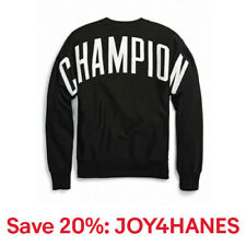 Champion Life Sweatshirt Mens Reverse Weave Crew Neck Oversized Arch Letter Logo