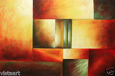 """24""""x36"""" Hand-Painted Oil on Stretched Canvas -  The Heat of Autumn"""