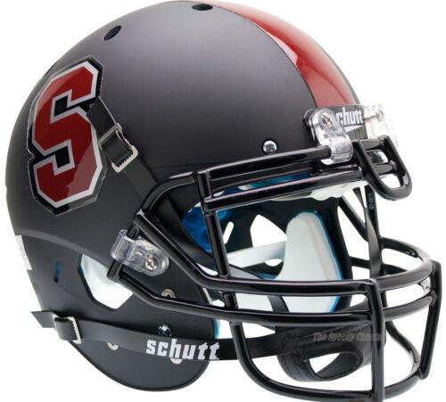 STANFORD CARDINAL BLACK SCHUTT XP AUTHENTIC FOOTBALL HELMET