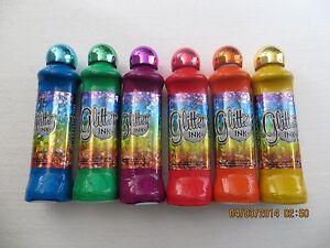 Glitter Ink Bingo Daubers Set Of Six Ebay