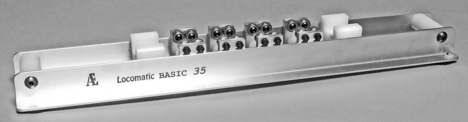 Banco prova Locomatic HO - serie BASIC 35 CC  Cod. LoHO.B35.01cc