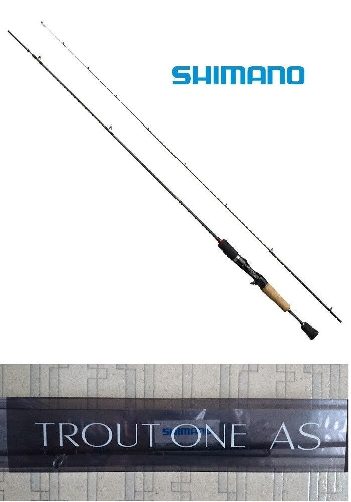 Shimano Trout One comme B66UL-F Baitcasting Fishing Rod Pole Fishing Rod F S