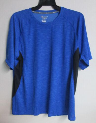 Champion Vapor Mens Performance Active Tee Lightweight Blue T-Shirt Size M #0134