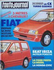 L' AUTO-JOURNAL 9. 15 mai 1984. Ford Fiesta 1.6 diesel. Honda Civic..