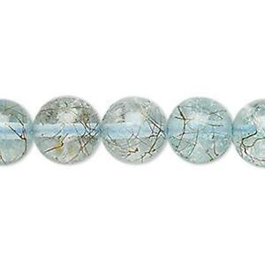 8580-Bead-Glass-Round-12mm-Clear-Gold-Blue-15inch-UK-EBAY-SHOP