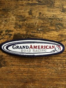 Vtg-Grand-Am-Embroidered-Sew-On-Patch-American-Road-Racing-Series-Badge-5-25