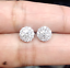 Deal-14K-Gold-1-05-CTW-Solitaire-Round-Genuine-Diamond-Halo-Stud-Earrings-7-mm thumbnail 1