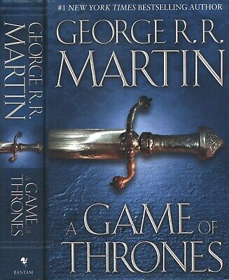 A Game of Thrones Book One a Song of Ice and Fire George R R  Martin HC  15th   eBay