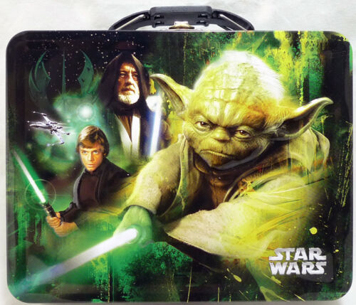 Star Wars Tin Box Carry All Large Dark \ Yoda 47628
